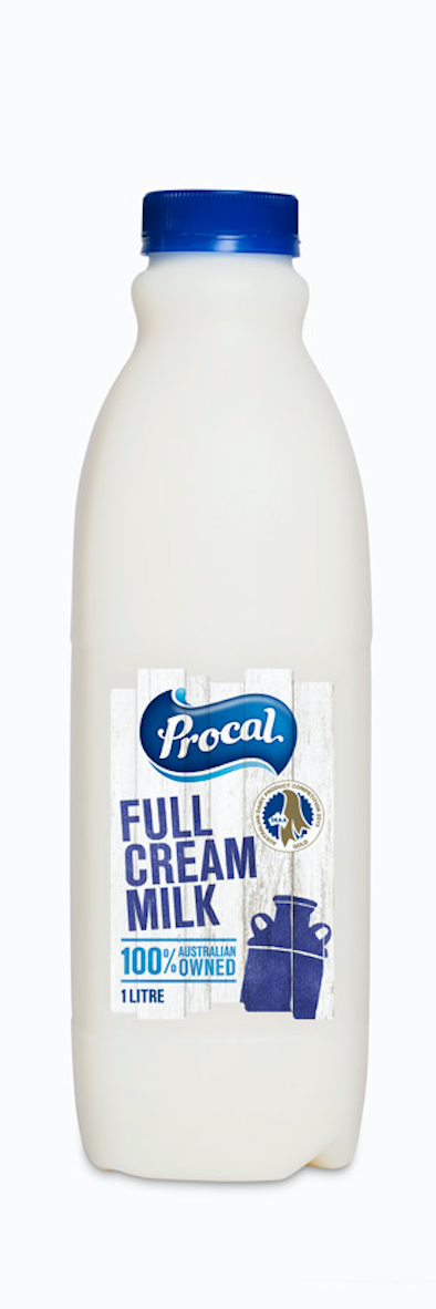 Procal Full Cream Milk 1lt