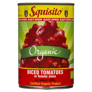 Squisito Organic Diced Tomatoes