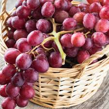 Grapes red(500gms)[P. O. USA]