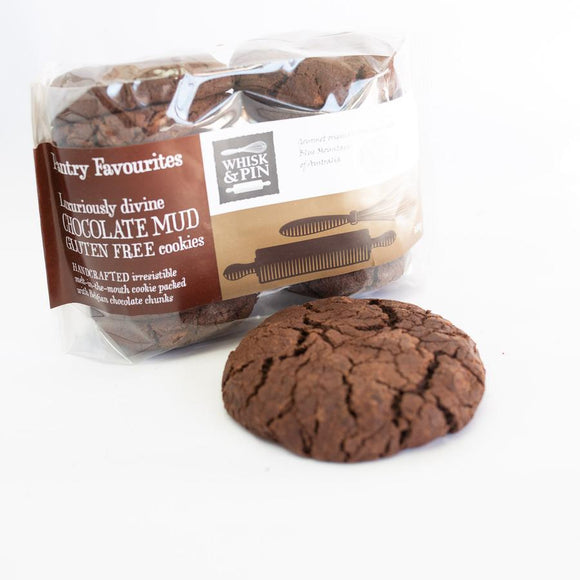 Whisk & Pin Chocolate Mud GF cookies 480g