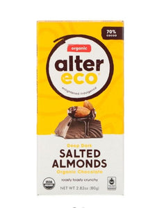 Alter Eco Salted Almonds 80g