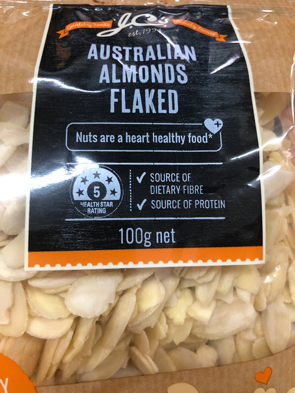 Jcs Almonds flaked