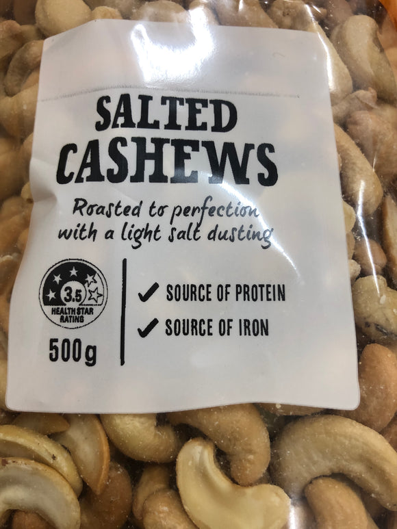 Jcs Salted cashews