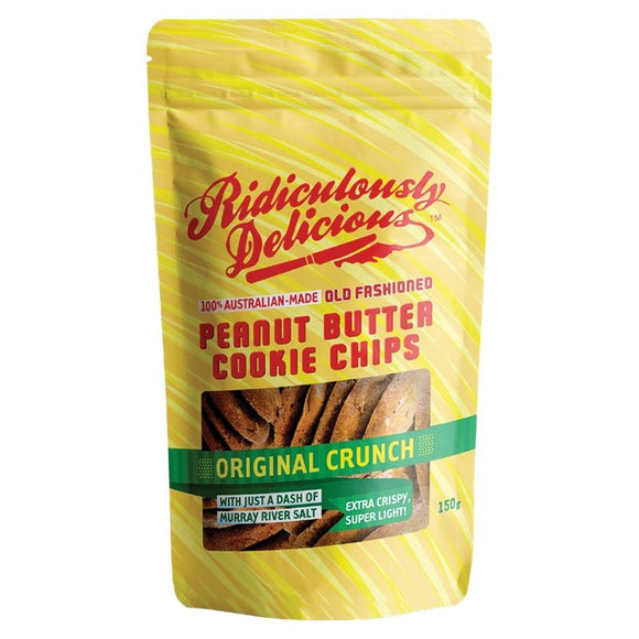 Ridiculously Delicious Peanut Butter Cookie Chips 150g