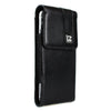 CASE123® MPS Mk II SL Premium Genuine Leather Vertical Swivel Belt Clip Holster for Apple iPhone 8/7/6/6s (4.7 inch screen)