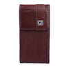 CASE123® MPS Mk II SL Premium Genuine Leather Vertical Swivel Belt Clip Holster for Apple iPhone 6/6s/7 (4.7 inch screen) - Dark Cognac Brown