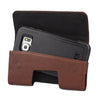 CASE123® MPS Mk II TL Premium Genuine Leather Horizontal Swivel Belt Clip Holster for Samsung Galaxy S6 & Galaxy S6 Edge