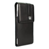 CASE123® MPS Mk II SL Premium Genuine Lambskin Leather Vertical Swivel Belt Clip Holster for Apple iPhone 8/7/6/6s Plus (5.5 inch screen)