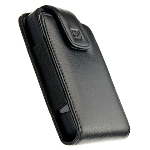 CASE123® MPS XL Elite Executive Genuine Leather Swivel Belt Clip Holster for Apple iPhone 4/4s