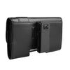 CASE123® MPS Mk II SL Premium Genuine Leather Horizontal Swivel Belt Clip Holster for HTC One M9
