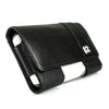 CASE123® MPS Mk II XXL Premium Genuine Leather Horizontal Swivel Belt Clip Holster for Samsung Galaxy S5