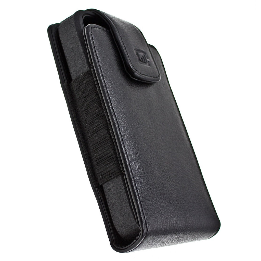CASE123® MPS XLR Elite Genuine Leather Swivel Belt Clip Holster for Apple iPhone 5/5s/5c
