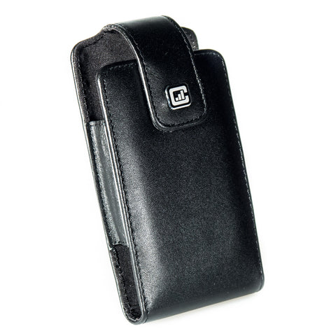CASE123® MPS XLR Special Edition Premium Genuine Leather Swivel Belt Clip Holster for Apple iPhone 5/5s/5c