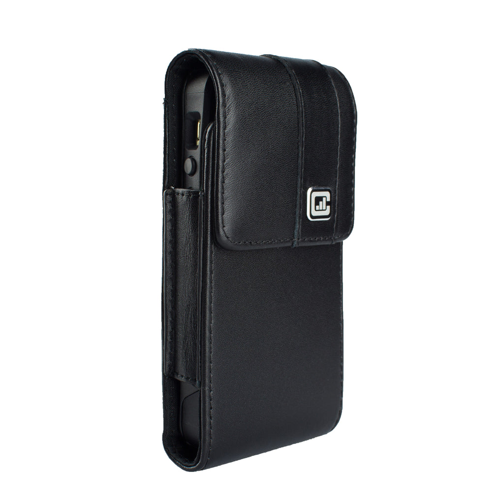 CASE123® MPS Mk II TL Premium Genuine Leather Vertical Swivel Belt Clip Holster for Apple iPhone 5/5s/5c