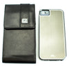 CASE123® MPS Mk II TL Premium Lambskin Leather Vertical Swivel Belt Clip Holster for Apple iPhone 5/5s/5c