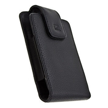 CASE123® MPS XXL Elite Executive Premium Genuine Leather Swivel Belt Clip Holster for Samsung Galaxy S4