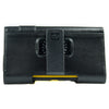 CASE123® MPS Mk II XXL Premium Genuine Leather Horizontal Swivel Belt Clip Holster for Samsung Galaxy S4