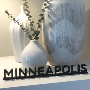 Minneapolis Word Art Painting Crafting Kit