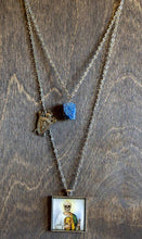 Load image into Gallery viewer, Saint Jude Layered Necklace - Lapis Lazuli
