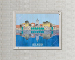 Madison Skyline - Photography Print