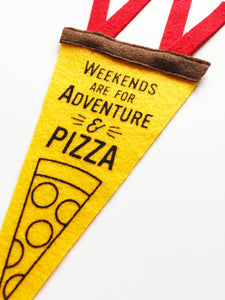 Adventure And Pizza Mini Banner
