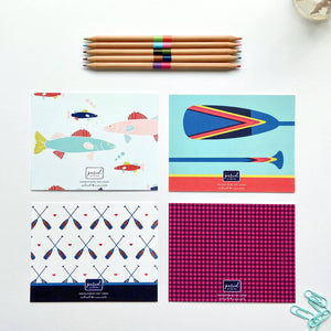 Love From Minnesota Flat Note Card Variety Pack - Set of 8