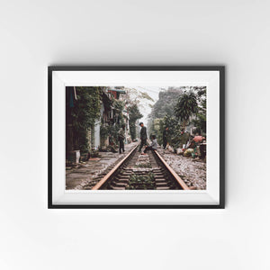 Hanoi Train Tracks