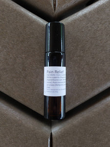 Pain Relief Essential Oil Blend - Diluted Roll-on Bottle