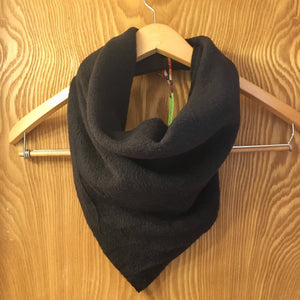 Fleece Bandanna Cowl Scarf // BrokenWingedBird Exclusive