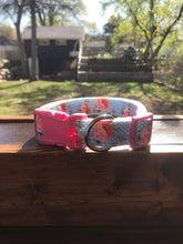 Load image into Gallery viewer, Handmade Floral Dog Collar