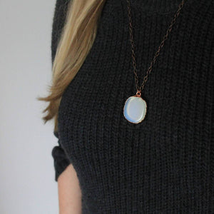 Opalite Copper Necklace
