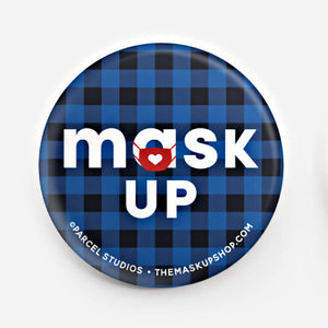 Mask Up Buttons Minnesota Variety Pack - Set of 3