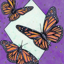 Load image into Gallery viewer, Monarchs in Purple Print