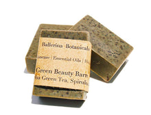 Load image into Gallery viewer, Spirulina Soap with Matcha Green Tea, and Peppermint Essential Oil | Vegan Soap | Handmade Soap for a Bath & Shower Body Wash | Organic Soap