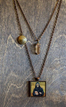 Load image into Gallery viewer, Saint Rafqa Layered Necklace - Apricot Quartz