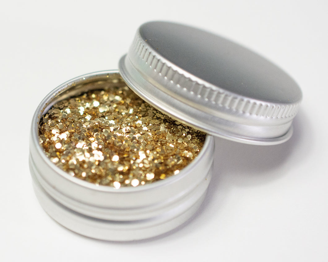 Fine Gold Mix - Biodegradable Glitter