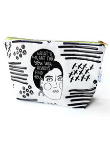Serendipity Cosmetic Bag - In Collaboration with Artifacts of Joy