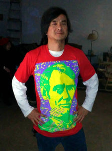 """Young Mr. Lincoln"" T-shirt (Red)"