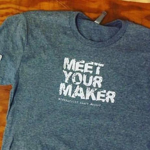 Meet Your Maker Grey Unisex T-shirt