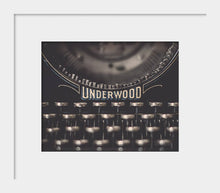 Load image into Gallery viewer, Typewriter Photograph | Vintage Typewriter Keys Wall Art