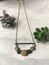 Load image into Gallery viewer, Brass Circles Necklace 2