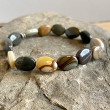 Load image into Gallery viewer, Polychrome Jasper Oval Bracelet - Clearance