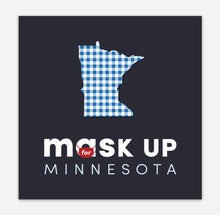 Load image into Gallery viewer, Mask Up for Minnesota Car Magnet