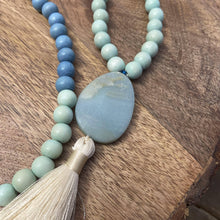 Load image into Gallery viewer, Wood Malas - Blue