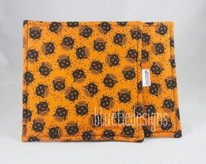 Halloween Black Cat Potholders