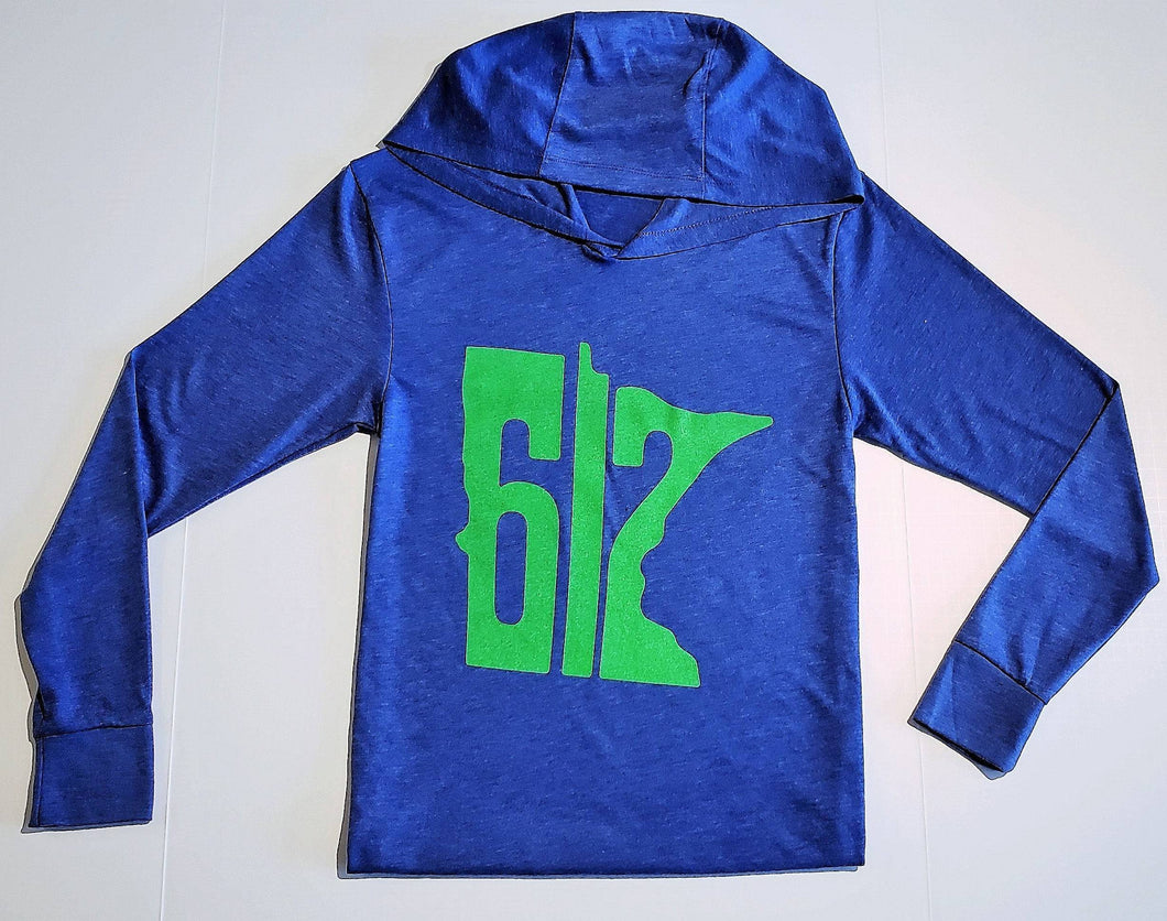 612 Hoody- Vintage Blue/Green