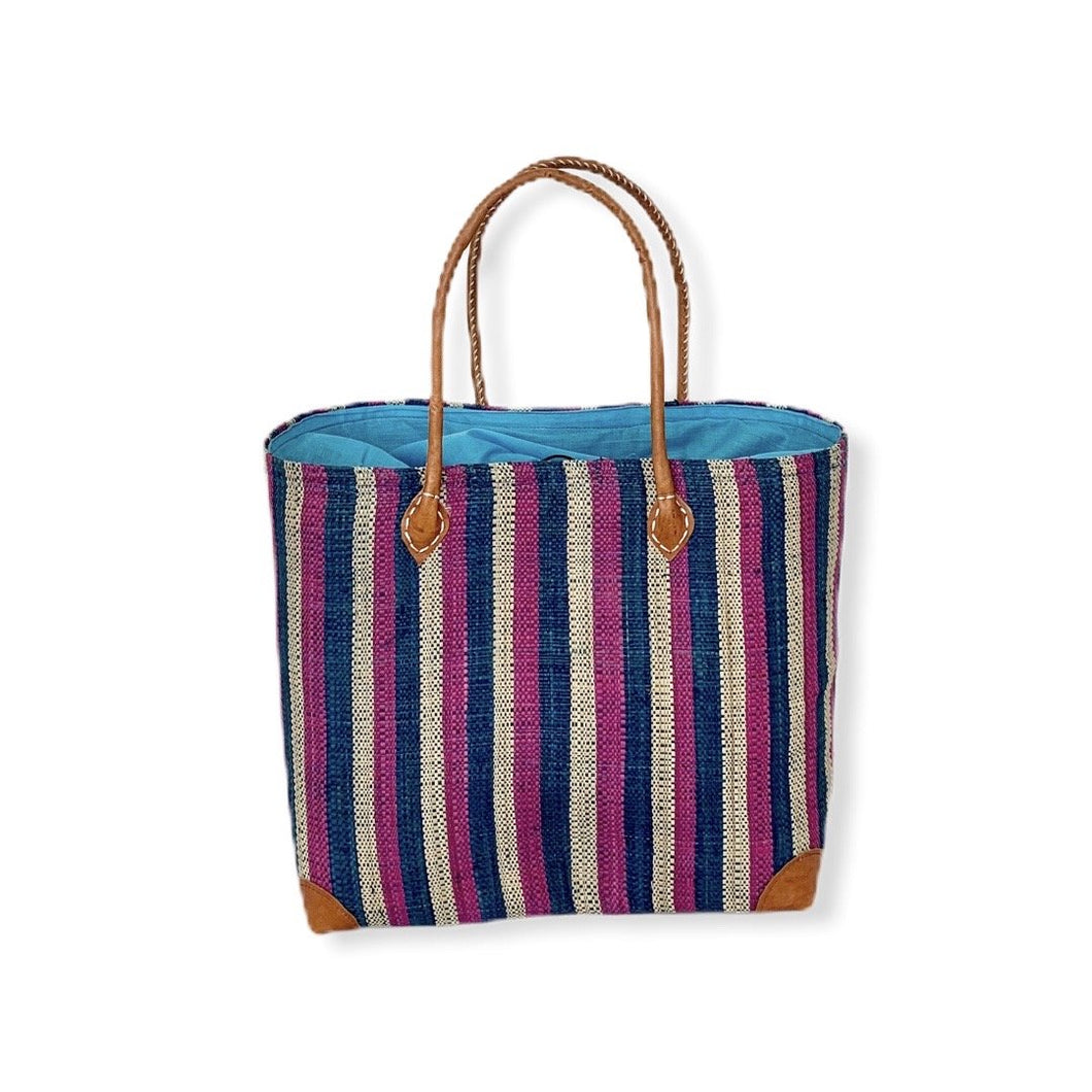 Mamy Stripes (Purple/blue/tan)