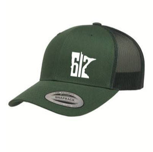 612 Dark Green Trucker Hat