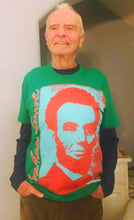 "Load image into Gallery viewer, ""Classic Lincoln"" T-shirt (Green)"