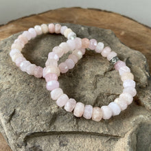 Load image into Gallery viewer, Morganite Faceted Bracelet